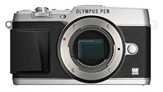 OLYMPUS ミラーレス一眼 PEN E-P5 17mm F1.8 レンズキット(ビューファインダー VF-4セット) シルバー E-P5 17mm F1.8 LKIT SLV