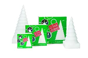 FloraCraft Styrofoam Kits, Stak Tree 12-Inch, White