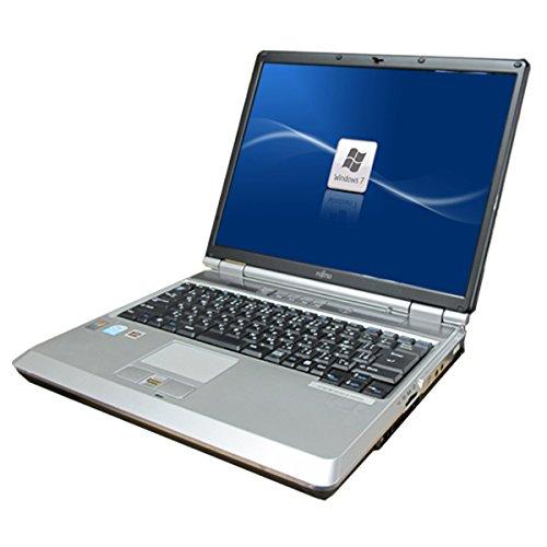 中古パソコン Windows7HP32Bit済 A4サイズ FMV製NB50R●15インチ大画面 高速Celeron M-1.5GHz搭載 メモリ1GB HDD80GB済 DVDマルチ 無線LAN内蔵 再生用バックアップメディア付属