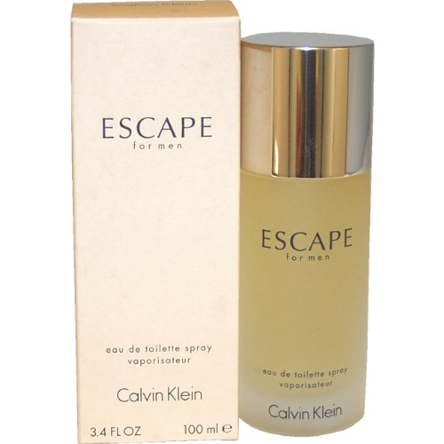 Escape by Calvin Klein for Men Eau De Toilette Spray, 3.4 Ou