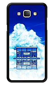 """Humor Gang Home In Clouds Printed Designer Mobile Back Cover For """"Samsung Galaxy A8"""" (3D, Glossy, Premium Quality Snap On Case)"""