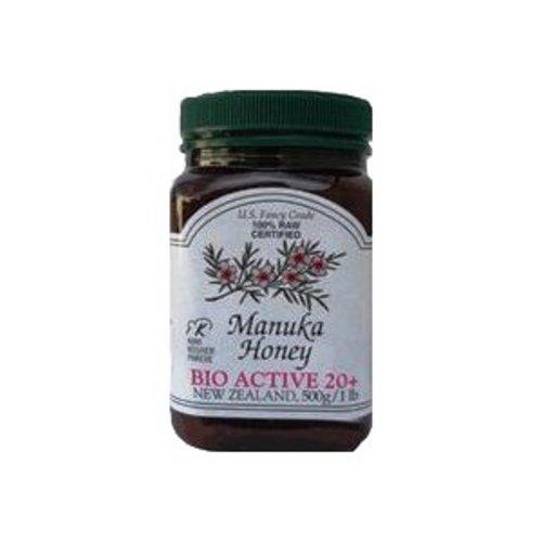 Manuka 20 + Bio Active, 1.1 lb Jar