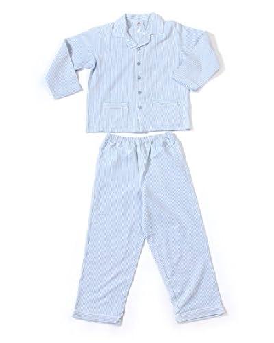 Allegrino Pijama Robert Azul Claro / Blanco