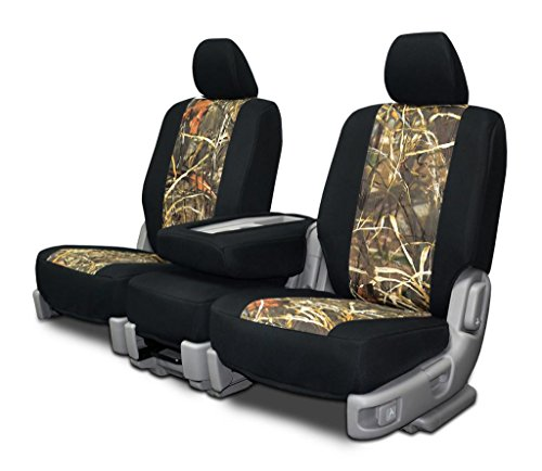 Custom Fit Seat Covers For Ford F-150 60-40 Seats - Advantage Max4 Neo-Camo