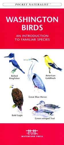 Folding Pocket Guide - Washington State Birds