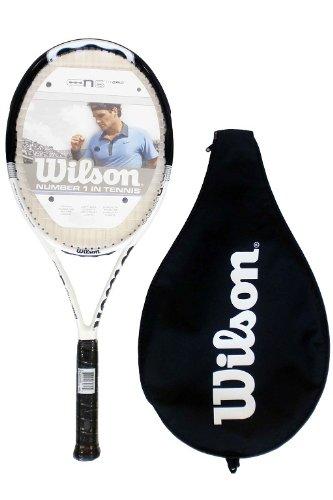 Wilson N6 Hybrid Black Tennis Racket RRP £160 L3