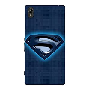 Enticing Blue Day Back Case Cover for Sony Xperia Z1