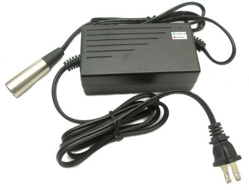 Bladez, Currie, Izip, Mongoose, Schwinn Electric Scooters Battery Charger W/ Xlr Connector