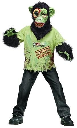 Zombie Chimp Children's Costume Medium (8-10)