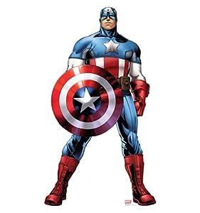 Captain America - Marvel's Avengers Assemble - Advanced Graphics Life Size Cardboard Standup