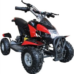 350 Watt Gobi Electric Ride on Mini Quad Sport ATV for Kids, Red