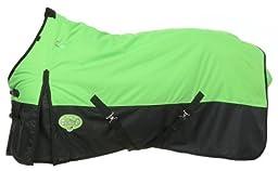 210D Light Weight Ripstop Waterproof Turnout Blanket, Neon Green, 63\