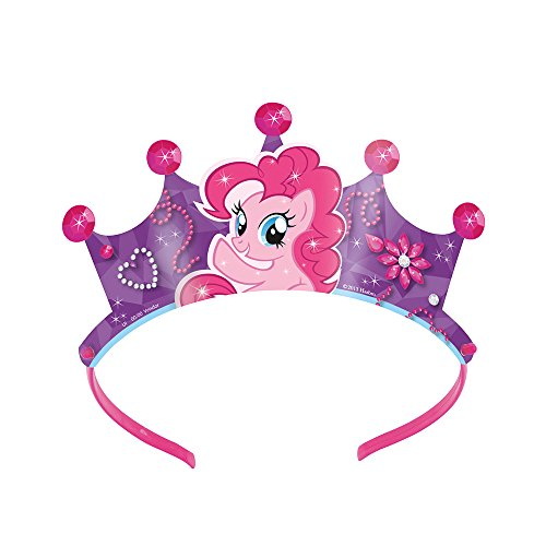 My Little Pony 'Pinkie Pie' Paper Tiaras (4ct) - 1