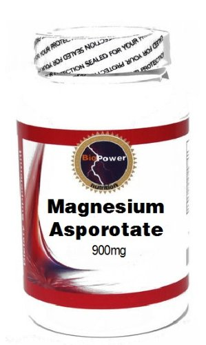 Magnesium Asporotate 900Mg 100 Capsules # Biopower Nutrition