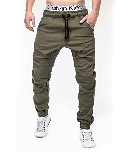 BetterStylz-Pantalone, da uomo verde Small