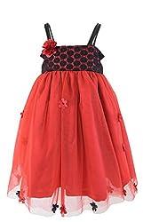 Faye Maroon & Black Tutu Dress 1-2Y