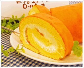 蒜山ジャージー無糖生クリームロールケーキ 約20cm 370g