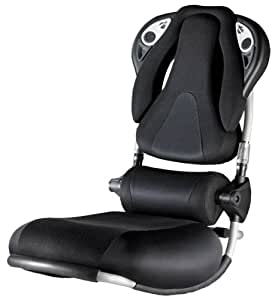 Pyramat S5000 W Sound Rocker Gaming Chair (PY556BLK)