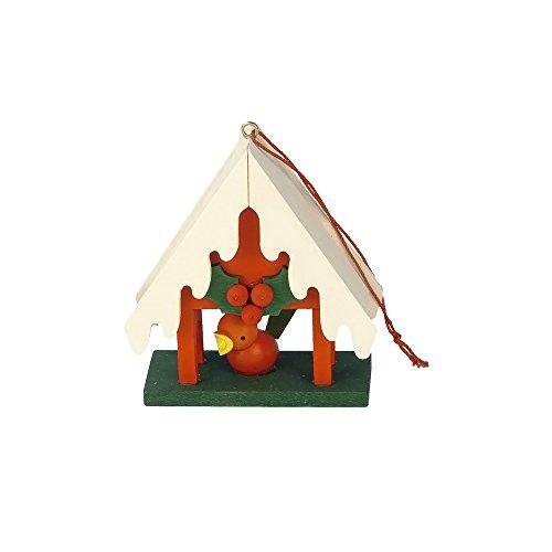 "10-0443 – Christian Ulbricht Ornament – Birdfeeder – 2.5″""H x 2.5″""W x 1″""D"