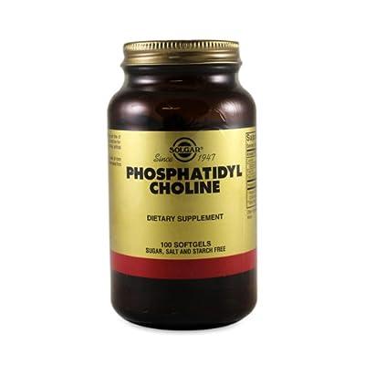 Phosphatidyl Choline Softgels 420mg 100 softgel capsules by Solgar