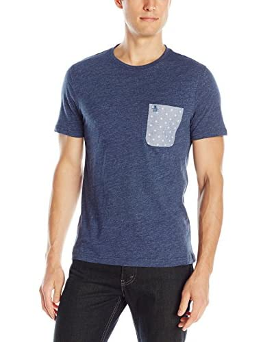 Original Penguin Men's Printed Oxford Pocket T-Shirt