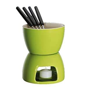 Cillo Chocolate Fondue Set Color: Green by Frieling