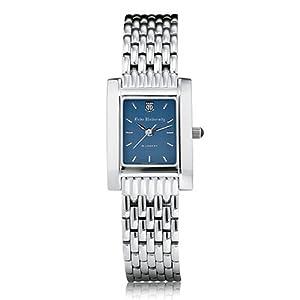 Duke University Ladies Swiss Watch - Blue Quad Watch with Bracelet by M.LaHart & Co.
