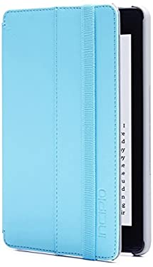 Incipio Standing Folio Case for Amazon Fire HD 6 (only fits 4th Generation Fire HD 6), Cyan
