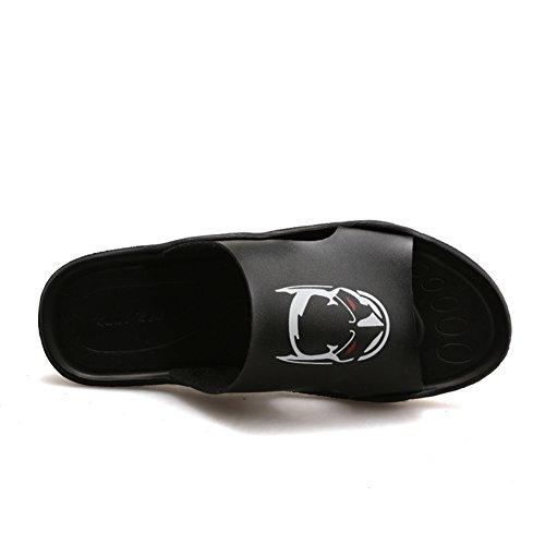 Pantoufles dames vêtements respirant les gens paresseux /Un mot pantoufle/ la moitié extérieure chaussons fashion / pantoufles de caractère Britannique