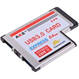 HDE 2 Port USB 3.0 54mm Express Card