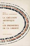 img - for la creation artistique et les promesses de la liberte book / textbook / text book