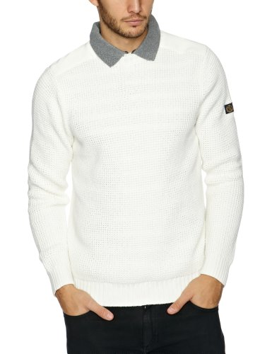 Henri Lloyd Butterton Crew Knit Men's Jumper Surf Medium