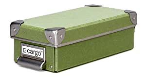 Cargo Naturals Pencil Box, Sage, 3 by 9-1/2 by 4-1/2-Inch