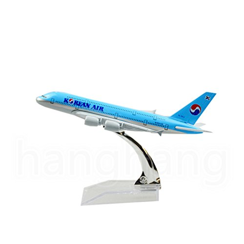 24-Hours Korean Air A380 Plane Model Airplane Models Birthday Gift (Korean Air Model compare prices)
