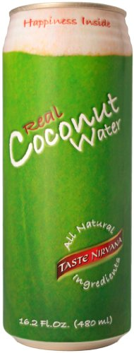 Taste Nirvana Real Coconut Water, 16.2oz