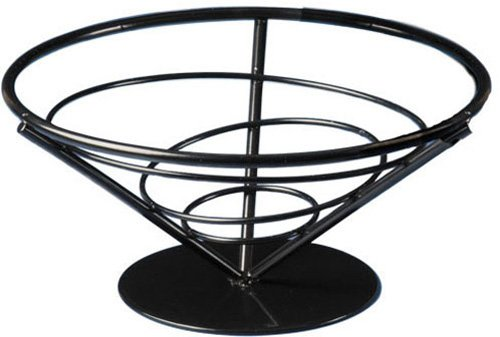 American Metalcraft FBB7 Wrought Iron Conical Bread Basket, Cone, 7-Inch (Wrought Iron Bread Basket compare prices)