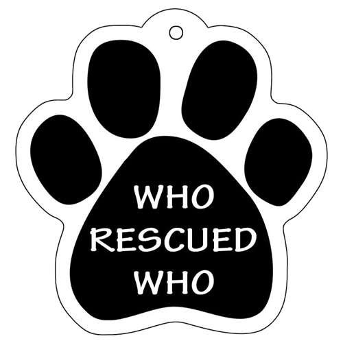 magnetic-pedigrees-car-keychain-who-rescued-who-paw-shape-durable-key-chain