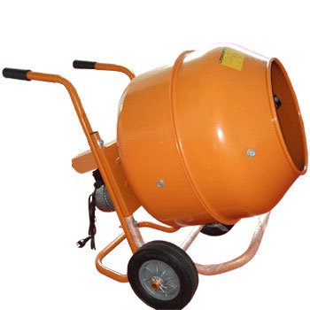 5 Cubic Feet Wheel Barrow Portable Cement Concrete Mixer