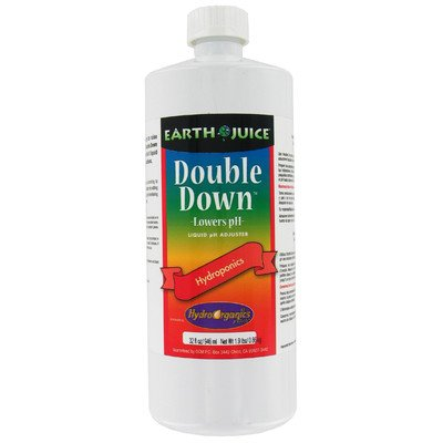 Earth Juice Double Down 1-Quart Liquid Ph Adjuster