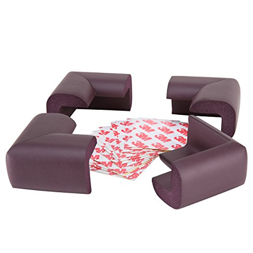 Sysrion Corner Guards 12 Piece Set Cushiony Table Furniture Childproofing Corner Cushion