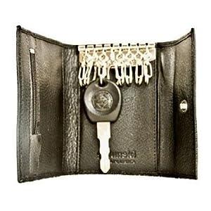Leather Keycase - Black by Golunski