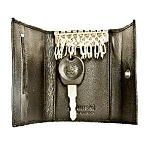 Leather Keycase - Black by Golunski