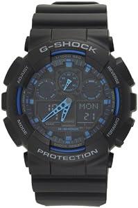G-Shock Ana-Digi Speed Indicator Black Dial Men's watch #GA100-1A2