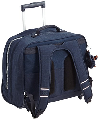 Kipling CLAS DALLIN Zaino con Rotelle, True Blue ( Blu)