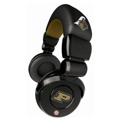 Ihip Pro Dj Headphones With Microphone - Purdue Boilermakers