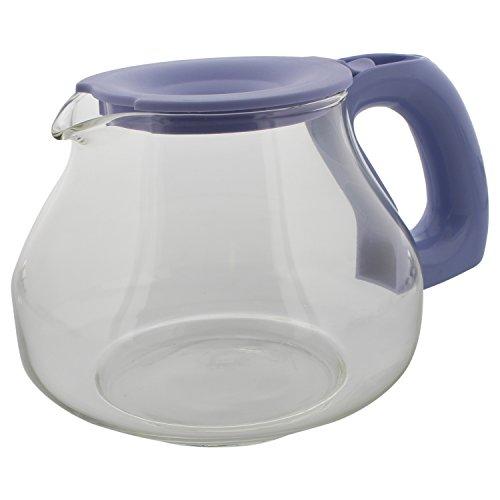 344153Ersatz-Glaskanne für Philips Cucina HD 7957 – HD 7502/31,Glas, fliederfarben