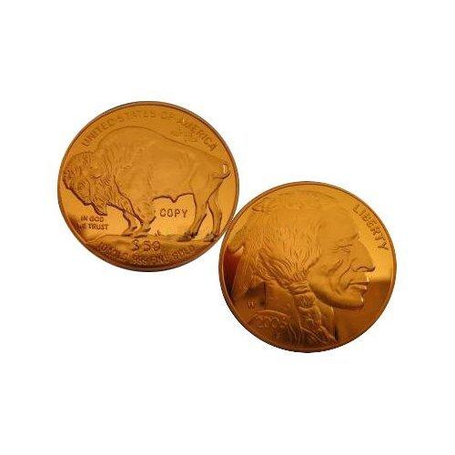 2006 $50 American Buffalo Gold Replica Coin