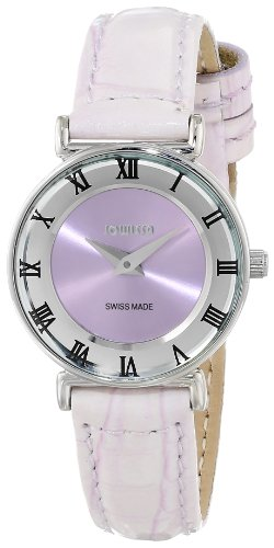 Jowissa Roma Pastell Women's Quartz Watch with Purple Dial Analogue Display and Purple Leather Strap J2.018.S