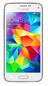 Samsung G800F Galaxy S5 Mini Smartphone débloqué (Ecran: 4.5 pouces) Blanc (import Italie)