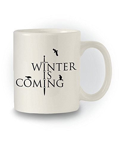 "Tazza ispirata a Game of Thrones ""Winter Is Coming"" [lingua inglese]"